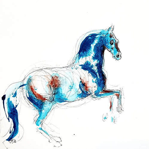 Whistlejacket II in Blue