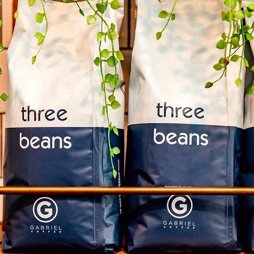 Three Beans House Blend Coffee