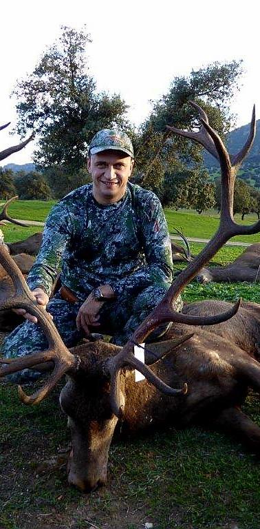 hunting Iberian Red Deer in Spain