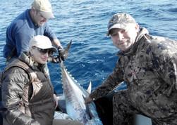 Голубой тунец рыбалка в Испании