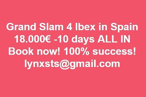 Grand Slam 4 Ibex in Spain - ALL IN