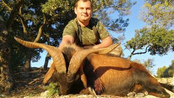Охота в Испании на Балеарского козла Майоркого козла с Lynx Tours 4
