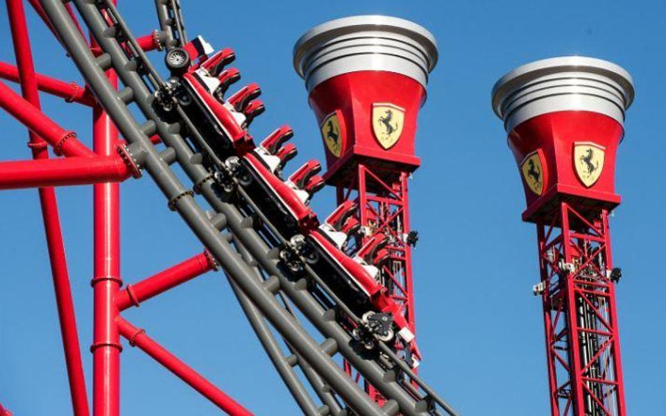 Ferrari Land Spain 5
