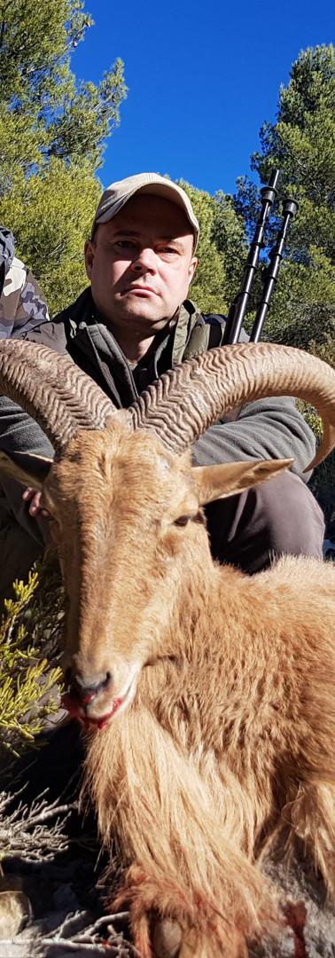 Охота на АРРУИ в Испании