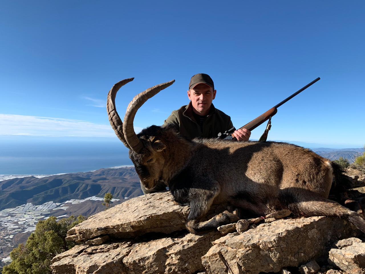 Охота на козерога Сиерра Невада в Испании с Lynx Tours 8