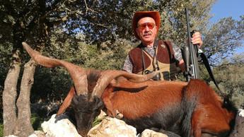 Охота в Испании на Балеарского козла Майоркого козла с Lynx Tours 1