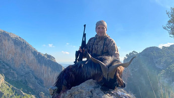 Охота в Испании на Балеарского козла Майоркого козла с Lynx Tours 5