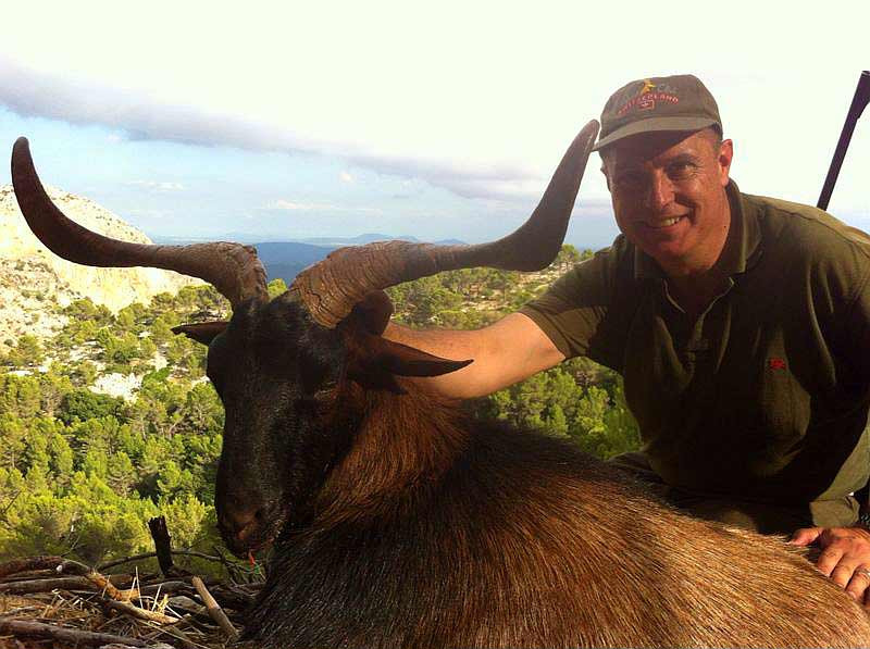Охота в Испании на Балеарского козла Майоркого козла с Lynx Tours 16