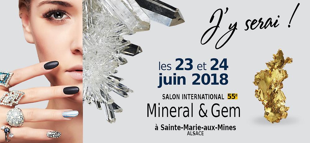 Sainte-Marie-aux-Mines 2018 Mineral & Gem