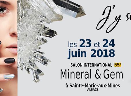 """Sainte-Marie-aux-Mines 2018 """"Mineral & Gem"""""""