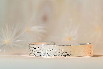 Bracelet argent martelé Arte_Sincero_aut