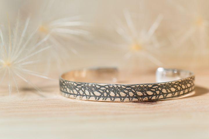 Bracelet argent dentelle Arte_Sincero_au