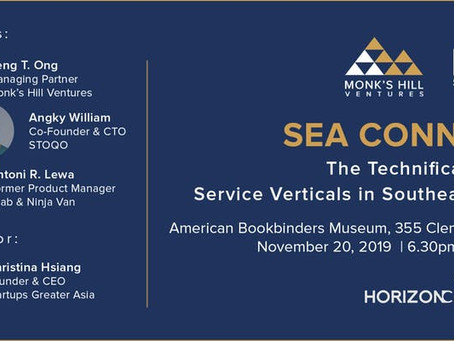 [SEA Connect] The Technification of Service Verticals in Southeast Asia