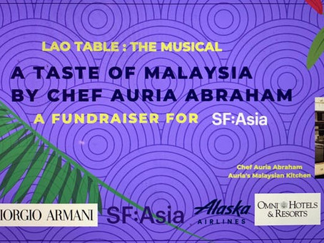 Lao Table: The Musical | A Taste of Malaysia by Chef Auria Abraham