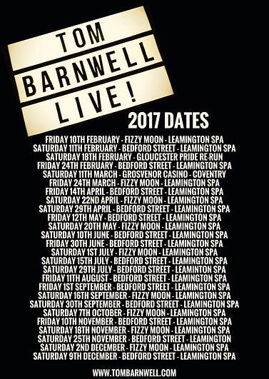 Tom Barnwell beard drummer Bedford Street