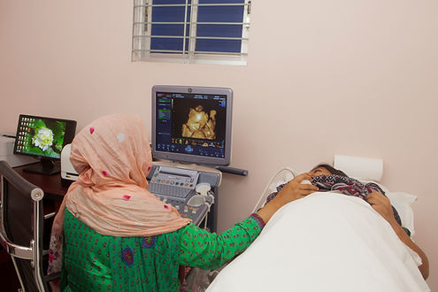 ultrasonography at dhaka with latest technology