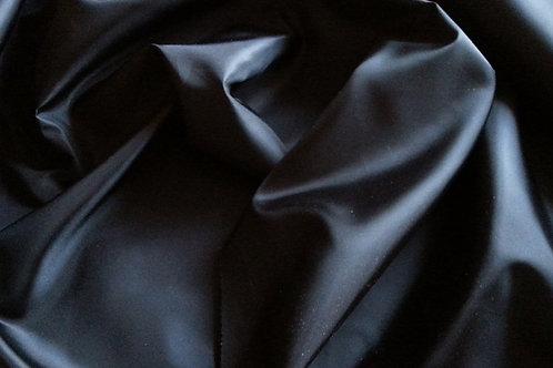 Ткань подкладочная чёрная 210T