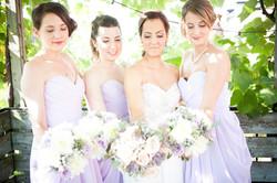 Bride & Bridesmaid Make-up & Hair