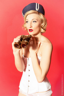 Pin up Photo shoot