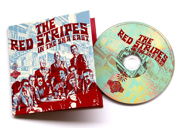In The Ska East Screenprinted CD