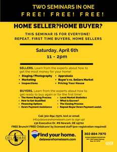 FREE Home Buying/Selling Expo 4/6/19 11am-2pm
