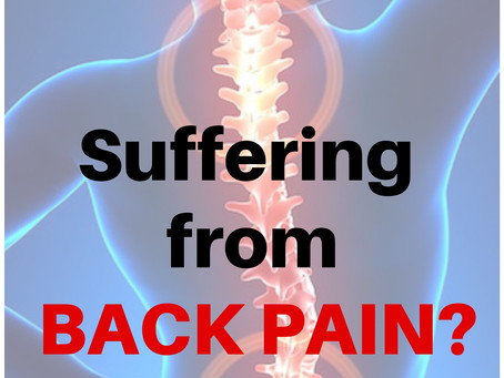 Having Low Back Pain?