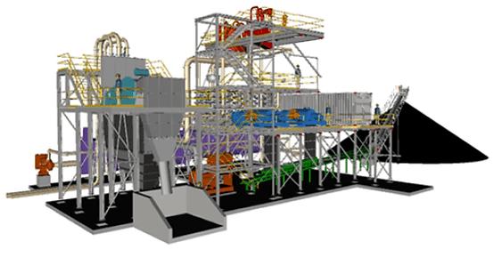 200tph Coal Tailings Reprocssing Plant.p