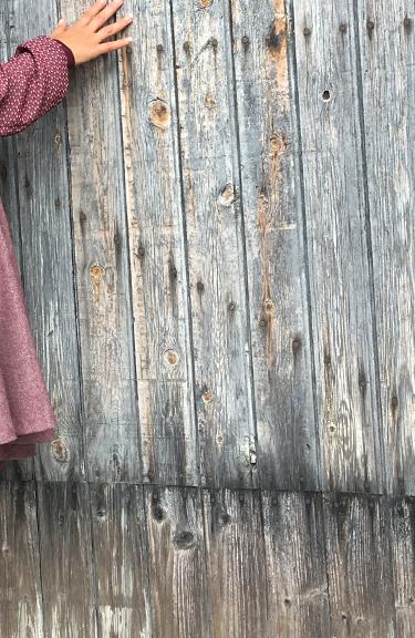 Jupes à godet laine tweed fine-3