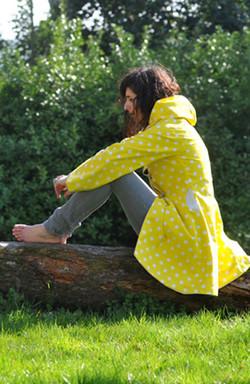 Imperméable Coton enduit jaune