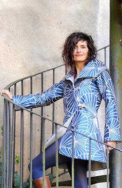 Manteau art deco