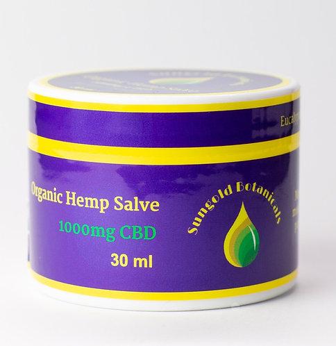 Organic Hemp Salve - EXTRA Strength - Cooling Eucalyptus
