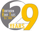 Northern Roof Tiles 29 years Logo