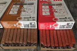 Flexim Roof Mortar in Rust/Light Brown & Terra Cotta