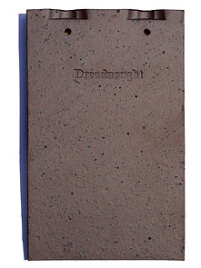 Dreadnought English Shingle Tiles in Blue Brindle