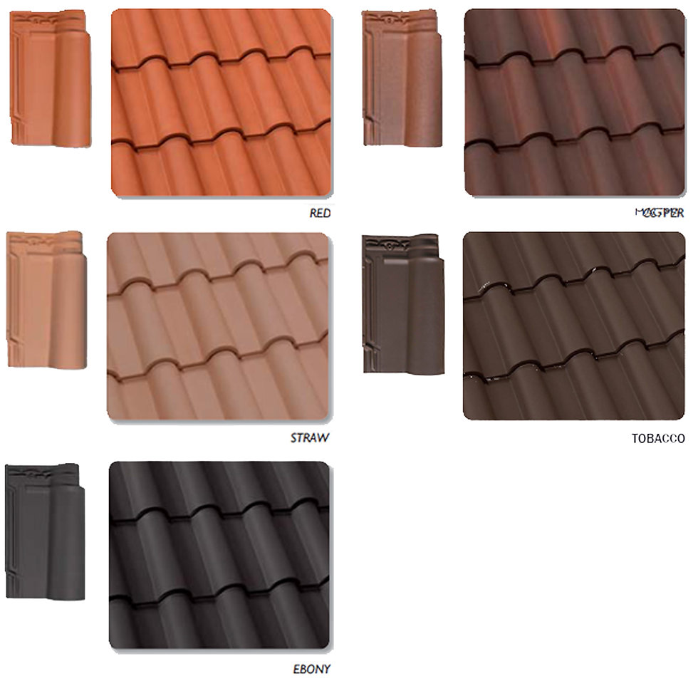 Lusa Spanish S Clay Roof Tile Colors