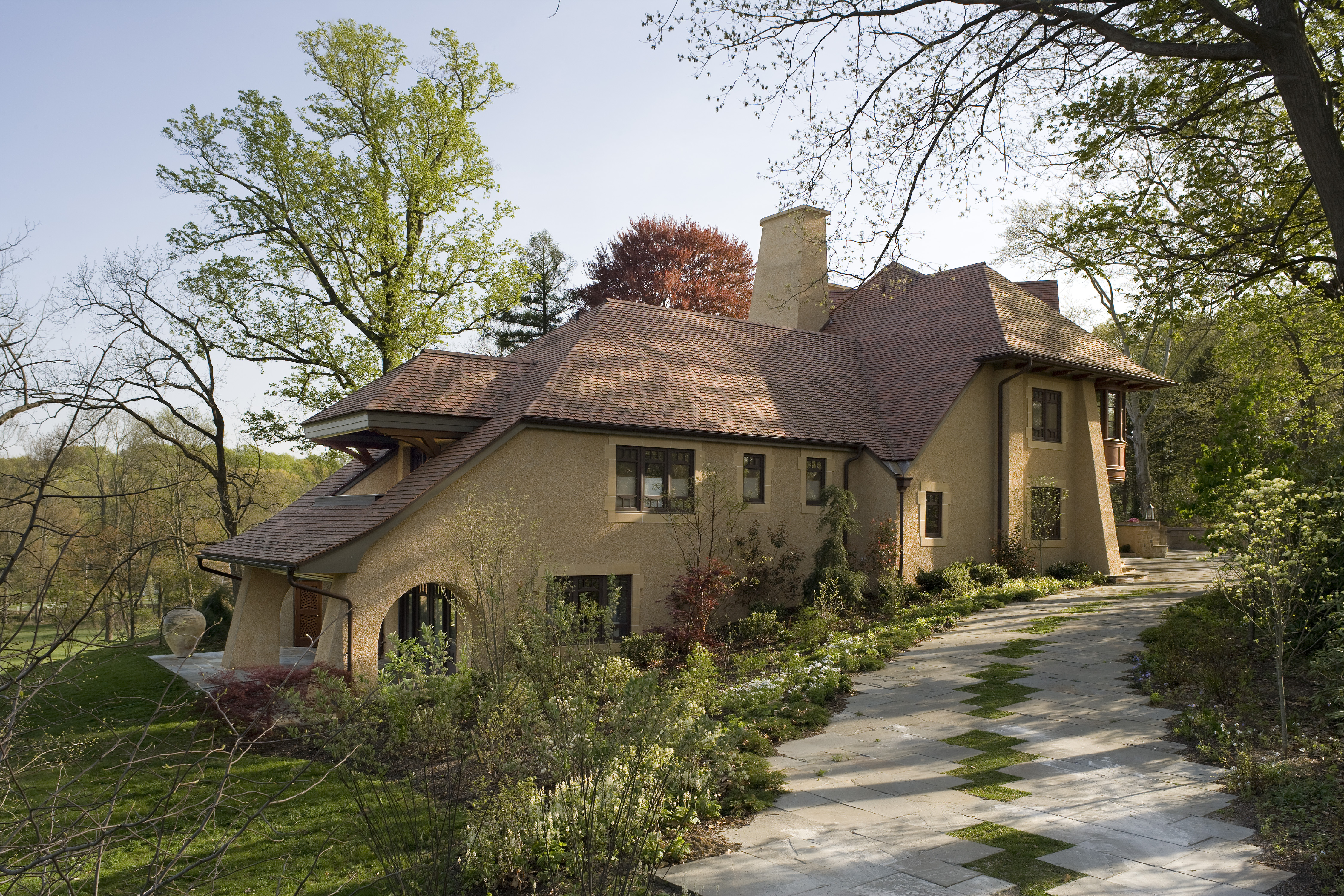 Arts & Crafts Inspired Residence