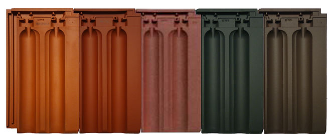 Natural Red, Copper Red, Magma, Ebony Gray & Tobacco Brown