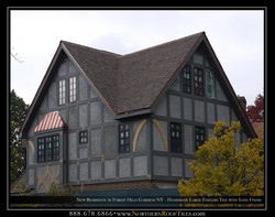 New Residence in Forest Hills Gardens NY - Handmade Large English Tile with Sand Finish 4