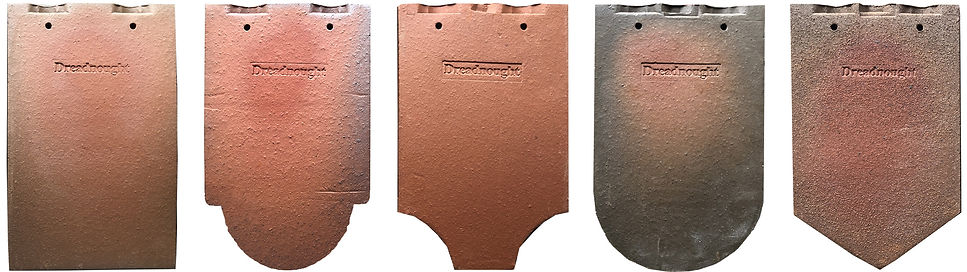 Drednought English Tile Ornamental roof tiles