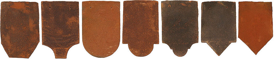 ornamentals clay roof tiles