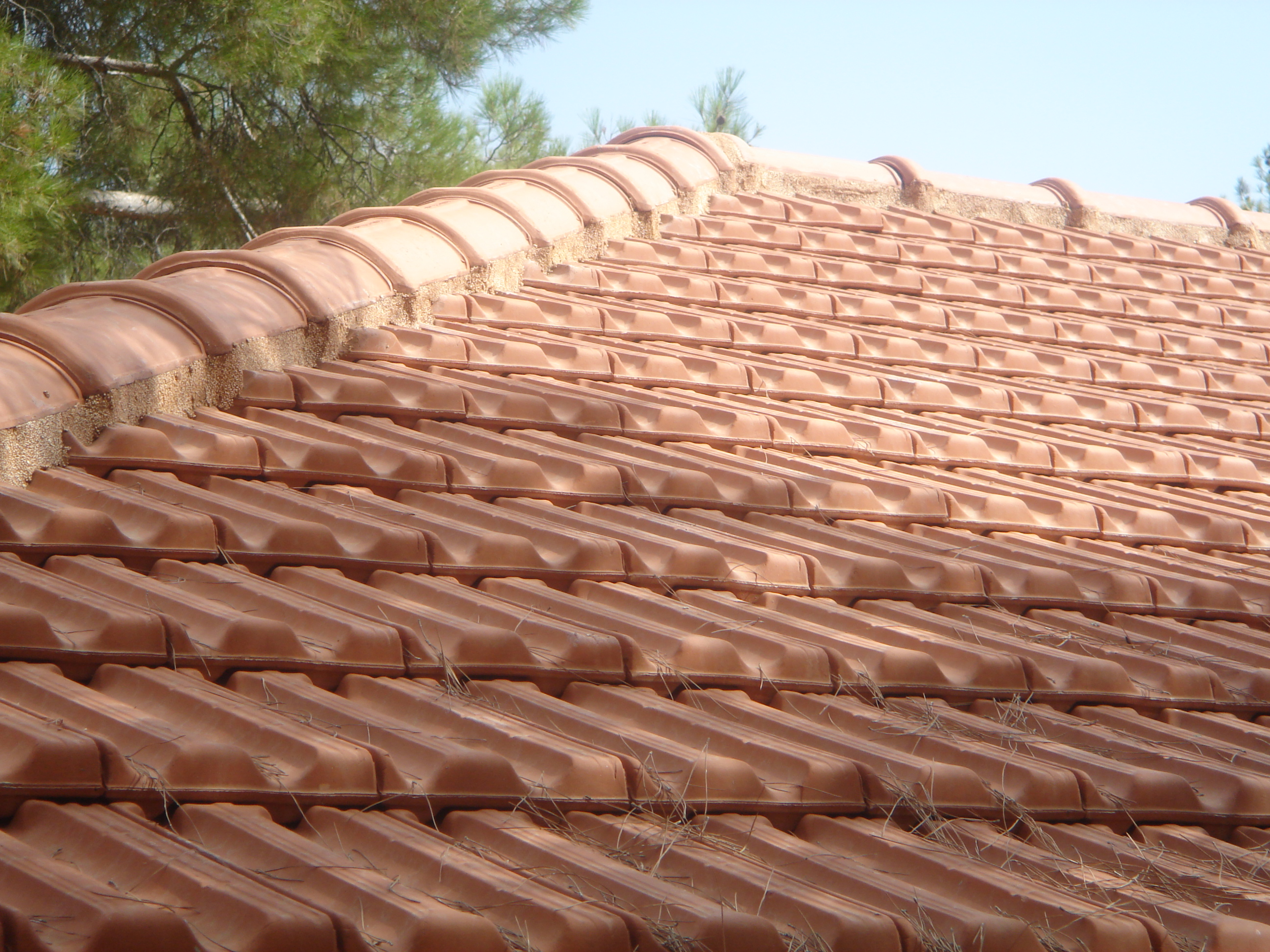 Light Brown Ridge & Hip on a French Marsellha Roof