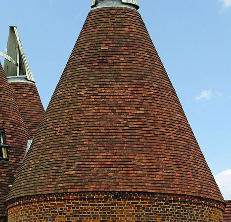 Sussex Red Medium Antique blend of Clay roof Tiles