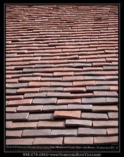 3 Handmade English Style Clay Tile - Blend of Classic Grey and Brown - Coatesville PA-page-006