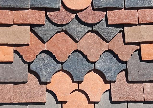 Tudor Ornamental Tiles