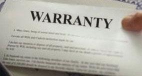 All roof tiles hve a warranty