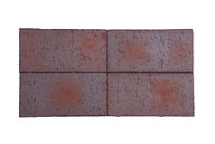 Brown Square faced paver