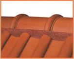 Flexim Roof Mortar in Terra Cotta orange