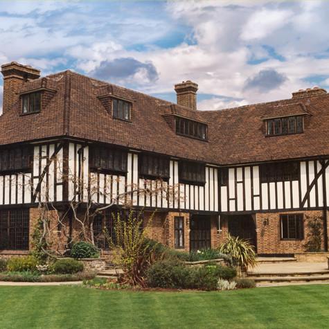 Tudor English handmade tiles in Dark Antique.