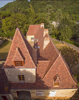 Huguenot Clay Tiles used on a project in the Picardy region of France