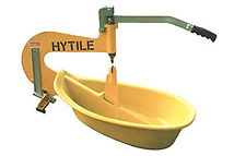 HyTile roof tile cutter frm Northern Roof Tiles West